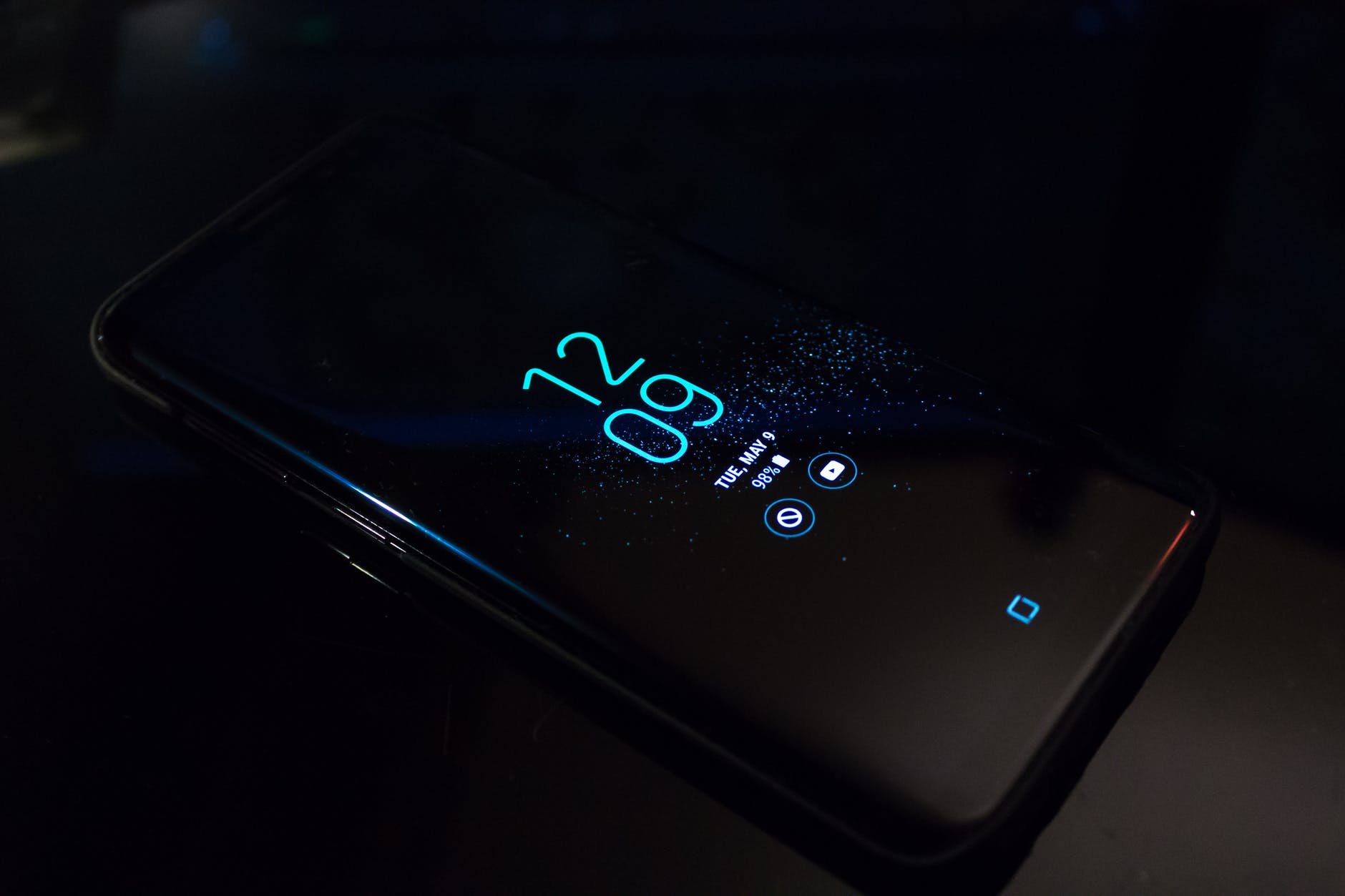 Keep your phone on when you're alone at home at night