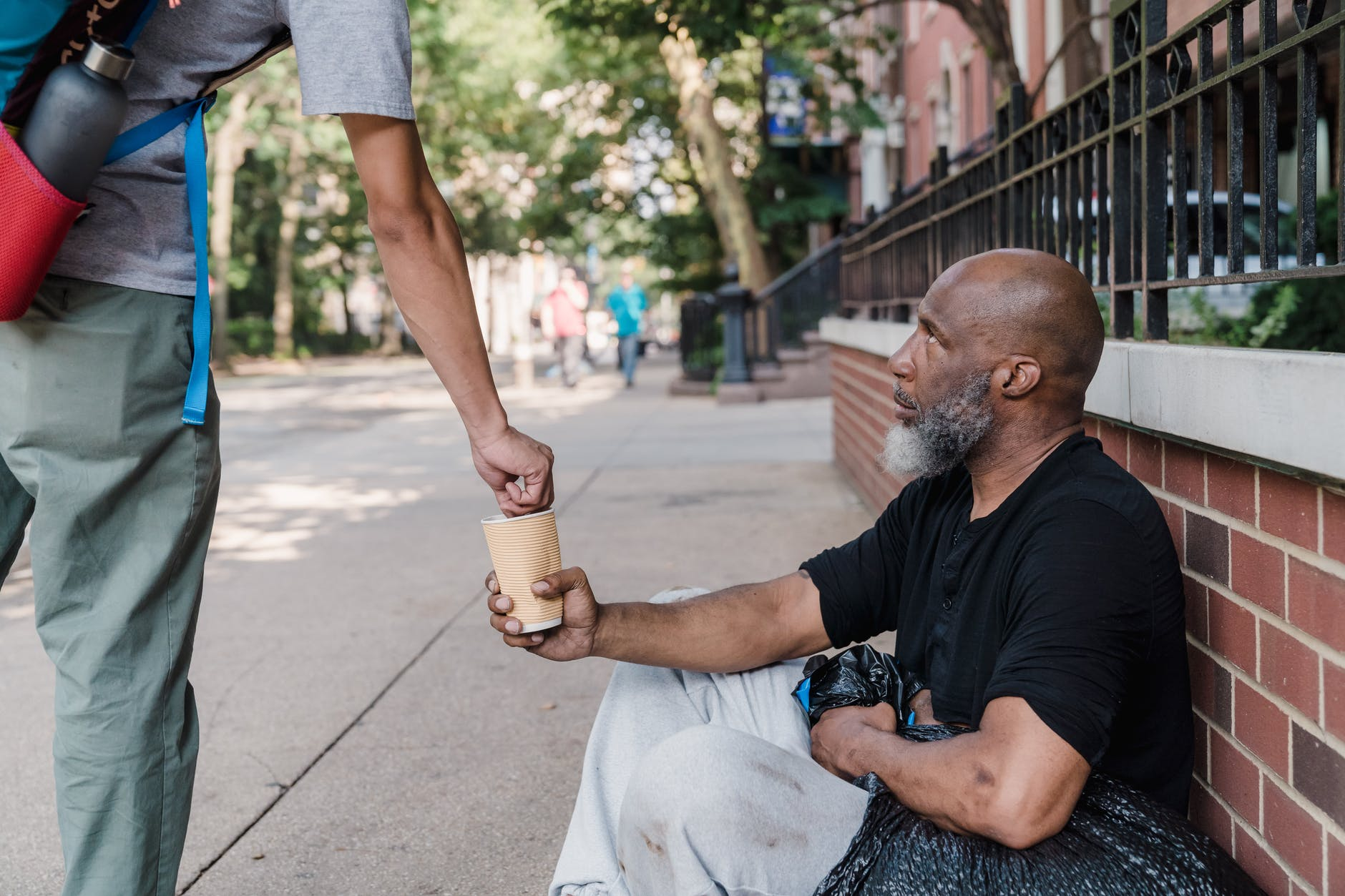 Caring for the homeless.